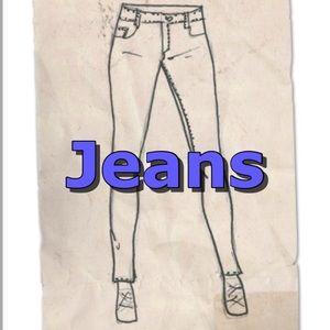 Denim - Jeans - various brands, colors & sizes